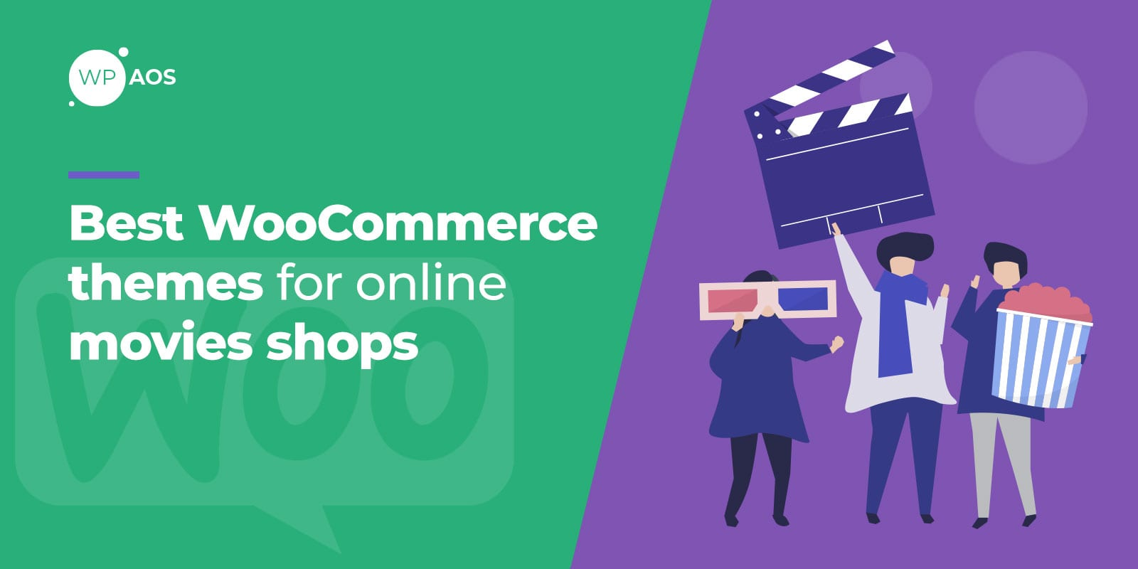 Best WooCommerce Themes for Online Movies Shops, wpaos