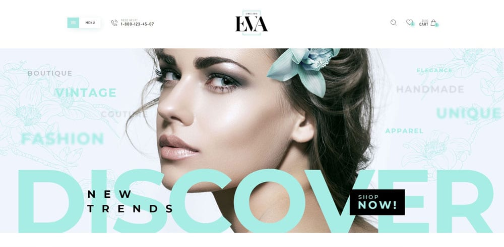 Eva Theme, Best WooCommerce themes, Clothing Store, WordPress Maintenance, wpaos